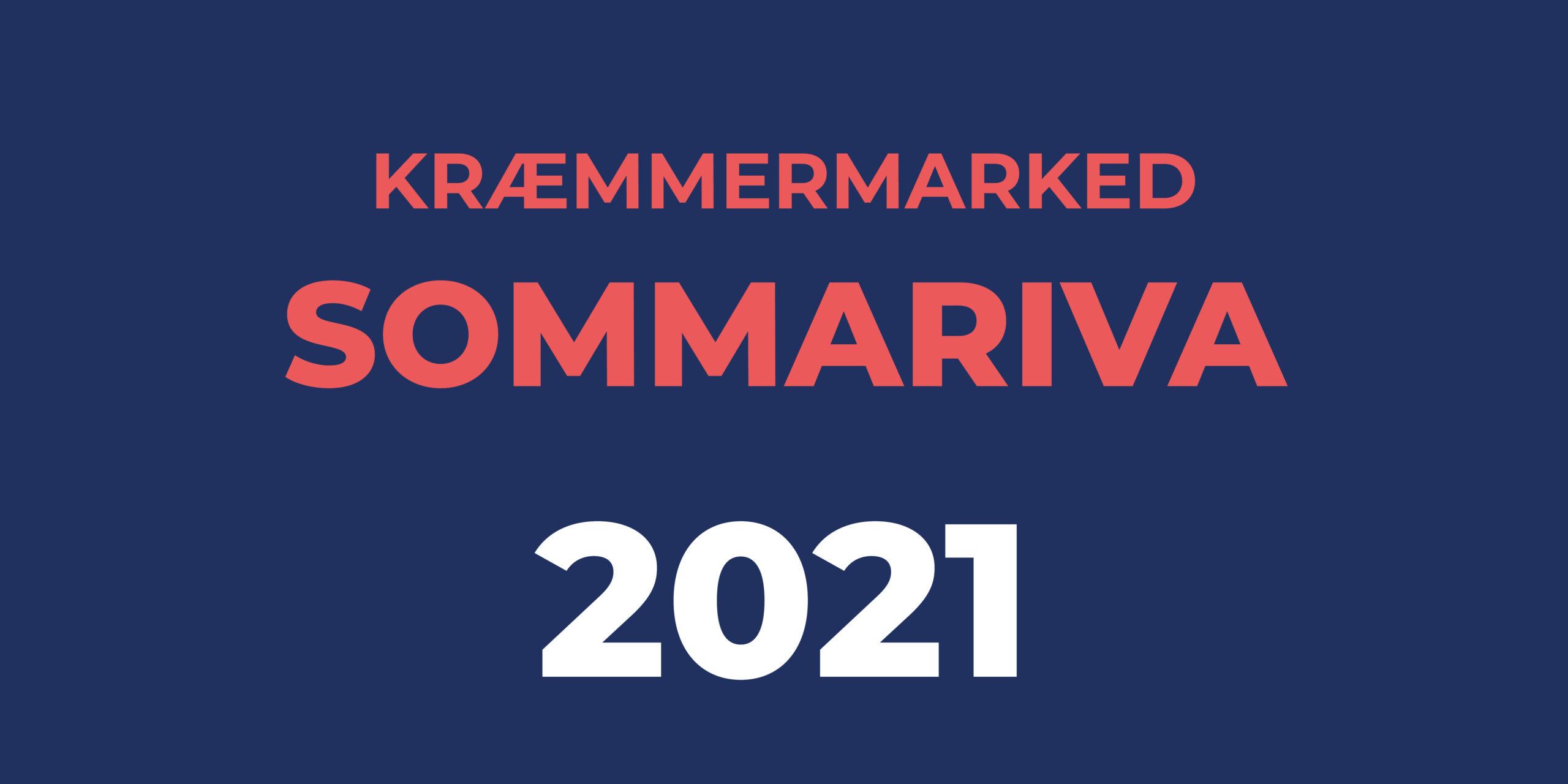 Sommariva Kræmmermarked 2021